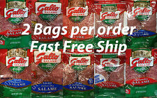 2 Bags Gallo Italian Dry Salame Deli Thin Sliced Salami