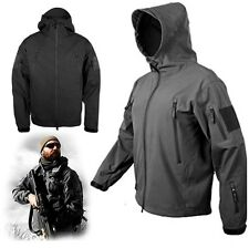 New Foliage Gunfighter Combat Jacket Soft Shell Sharkskin Black Tech Stock