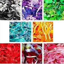 Mixed Ribbon Off Cuts 25 Metres Various Sizes Colours Arts Crafts Scrapbooking