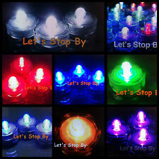 36 LED Submersible Waterproof Wedding Floral Decoration Tea Feather Vase light