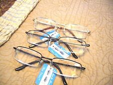 """MEN'S """"EXTRA HIGH STRENGTH"""" READING GLASSES/MAGNIFIERS (4.50-6.00) NOW 3-COLORS"""