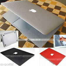 Carbon Fiber Sticker KB Skin Screen Protector fr Apple 2013 MacBook Air 11 A1465