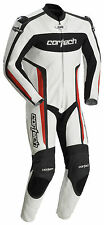 *Ships Same Day* Cortech Latigo (White/Red) Leather RR 1-Piece Suit