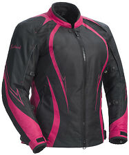 *Ships Same Day* Woman's Cortech LRX Series 3 (Black/Pink) Jacket