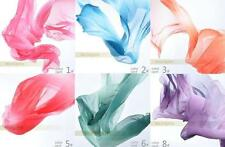 "FH# Belly Dance Gradient Imitated Silk Shawl Veil 13 colours 98.5*47""/250*120cm"