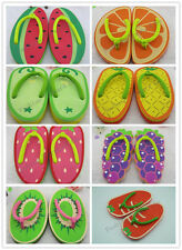2013 New Women Cute Fruit Flip Flops Fashion Ladies Casual Beach Slippers US6-8