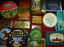 Vintage Tins - Advertising Tins Food / Tobacco - inc. Oxo Ogdens Farrahs etc.