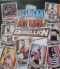 WWE  TOPPS SLAM ATTAX REBELLION LIMITED EDITION PAY PER VIEW PROP SIGNATURE ETC