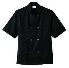 Five Star Short Sleeve Chef Jacket Style 18001-015 (Black)