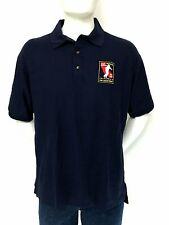 "SPORTMASTERS Embroidered ""California Fire Dept""  Polo Shirt (L) Made in USA"