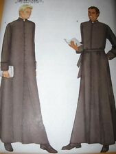 New PATTERN mens CASSOCK Priest LONG ROBE Clergy adult 32-48 patterns sewing