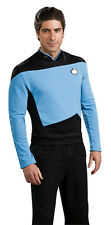 Sciences Uniform Star Trek Next Generation Blue Dress Up Halloween Adult Costume