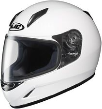 """*Ships Same Day* HJC   CL-Y """"YOUTH""""  (White) CLY Motorcycle Helmet"""