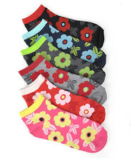 Colorful Love, Live and Laugh Assorted 6 Pack Socks (SPG)