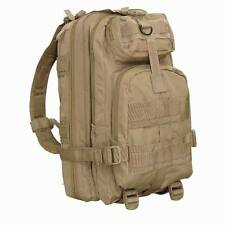 Condor 126 MOLLE Modular Compact Assault Pack / Hiking O.D Black Coyote Tan Red