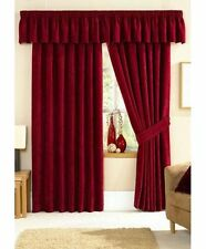 Stamford Classic Chenille Ready-Made Fully Lined Curtains | All Sizes/Colours
