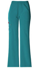 Scrubs Dickies Xtreme Stretch Elastic Waist Pant 82012 Teal FREE SHIPPING!