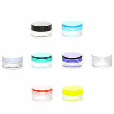 Empty Jar Pot 15ml x 5pcs Small Container Sample Cosmetic Make up Cream Lip Balm