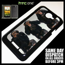 Cover for HTC One X Monkey Funny Cute Evil Quirky Different Phone Case %2128