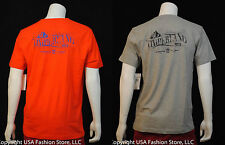 Timberland Men's Short Sleeve Tshirt Back Graphic Multi 2 Colors NWT