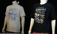 Timberland Men's Short Sleeve Tshirt Graphic Multi 2 Colors NWT