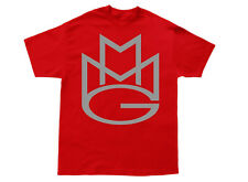 MAYBACH MUSIC T-shirt MMG Rick Ross Wale Meek Mills Pill Stalley Omarion Red#2