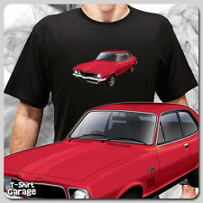 Illustrated Classic Australian Muscle Car T-SHIRT - Holden LJ TORANA GTR-XU1