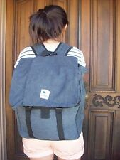 NEW HIPSTER CANVAS BACKPACK BLUE CHARCOAL KHAKI ESPEROS CARRY HOPE