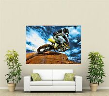 Motorcross Motorbike Giant XL Section Wall Art Poster SP120