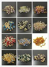 1.5mm 730PCS DIY Seed Stone Beads Multicolor Crystal Rhinestone Pointed Back