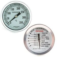 Barbeque Thermometer *MADE IN KOREA* Barbecue Grill meat smoker pit temp guage