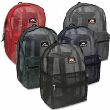 "Mesh ""See Through"" Trailmaker Backpack New With Tags"