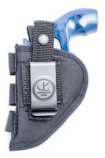 Ruger LCR 38, 357 SA  | Nylon OWB Open Carry Holster with Shell Loops