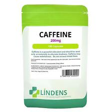 *NEW* 200mg CAFFEINE capsules for alertness  *Fast Worldwide Delivery*