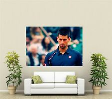 Novak Djokovic Tennis Giant 1 Piece  Wall Art Poster SP171