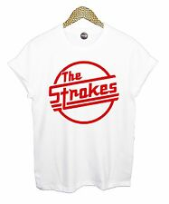 THE STROKES T SHIRT TEE ROCK HIPSTER MENS STREET MUSIC BAND BOY SUPREME PUNK