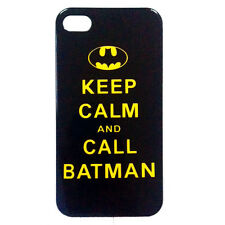 KEEP CALM AND CALL BATMAN HARD CASE COVER FOR IPHONE 4 4S & 5 CUPCAKES & ZOMBIES