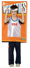 Wheaties Box Cereal Basketball Player Sports Dress Up Halloween Child Costume