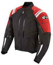 *Ships Same Day* JOE ROCKET Atomic 4.0 (Black/Red) Waterproof Textile Jacket