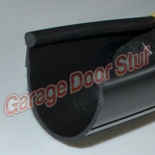 Garage Door Weather Seal - Bottom Seal Bead Type - BLACK PVC - NEW
