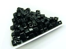 15gm. GLASS Seed BEADS Bugle TUBE/ Cube/ Bevel Edge A ~ Various Style & Color ~