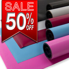 "Carbon Fibre Vinyl  3D   Bubble/Air  Free   ""Hyperlex""   All Colours All Sizes"