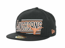"Texas Longhorns NCAA New Era 59Fifty ""Angular"" Flat Bill Fitted Hat"