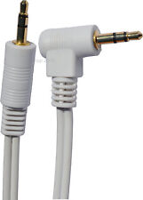 3.5mm Stereo Audio Jack Standard Male to Right Angled 90 Degree Jack Plug Cable