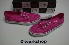 VANS Hello Kitty Authentic PINK 4.5 5 5.5 6 6.5 7 7.5 8 8.5 ALL SIZES era lo pro