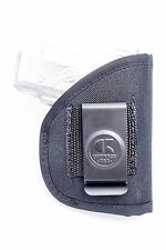 Sig Sauer P938 with Laser   Nylon IWB Conceal Inside Pants Holster. USA MADE!