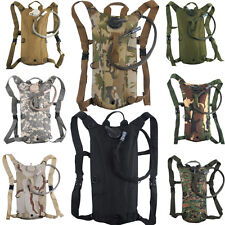 3L Hydration System Water Bag Pouch Backpack Bladder Hiking Climbing Survival