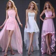3 Style 2013 New beadings formal evening Mini dresses high-low fashion prom gown