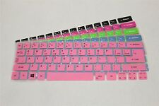 "Color Keyboard Skin Cover Protector For 13.3"" ACER S7 Series S7-391 S7-392"