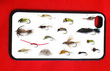 Fly Fishing Iphone 4/4S 5 Case Bass Lures